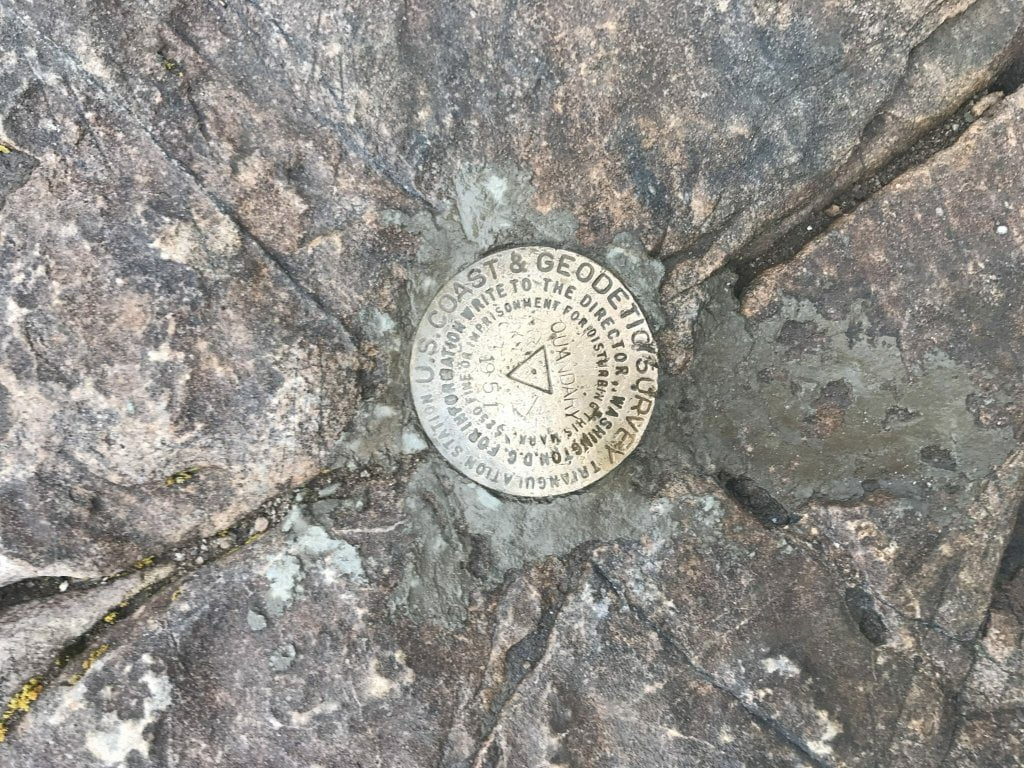 Quandary Peak Summit Marker