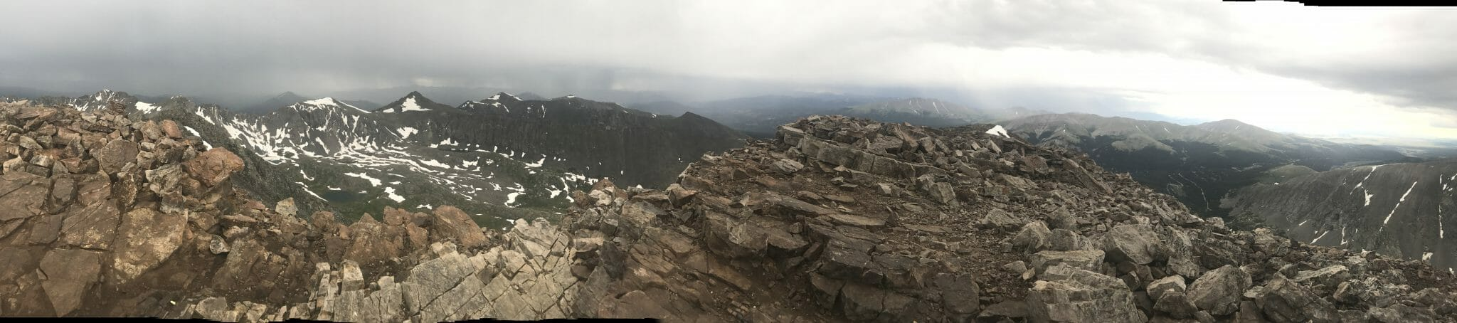 Quandary Peak Panorama