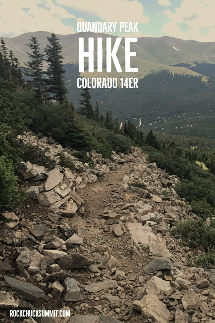 Quandary Peak Trail Colorado 14er