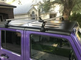 Thule Jeep Wrangler Roof Rack
