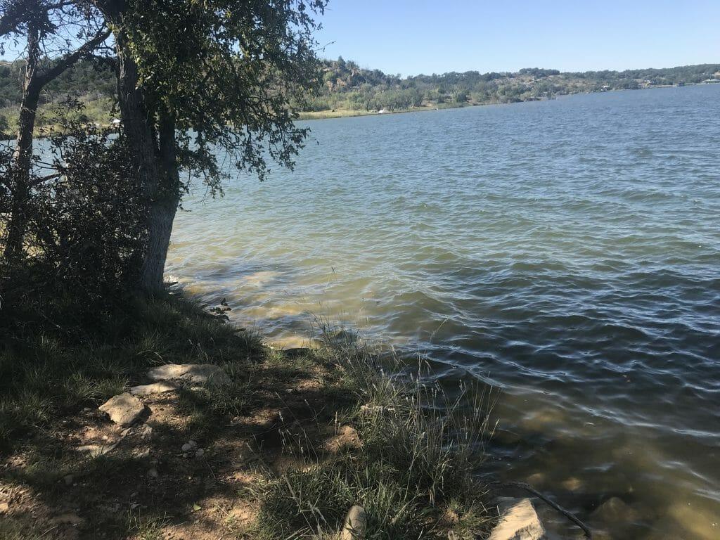 possume kingdom lake fishing hole