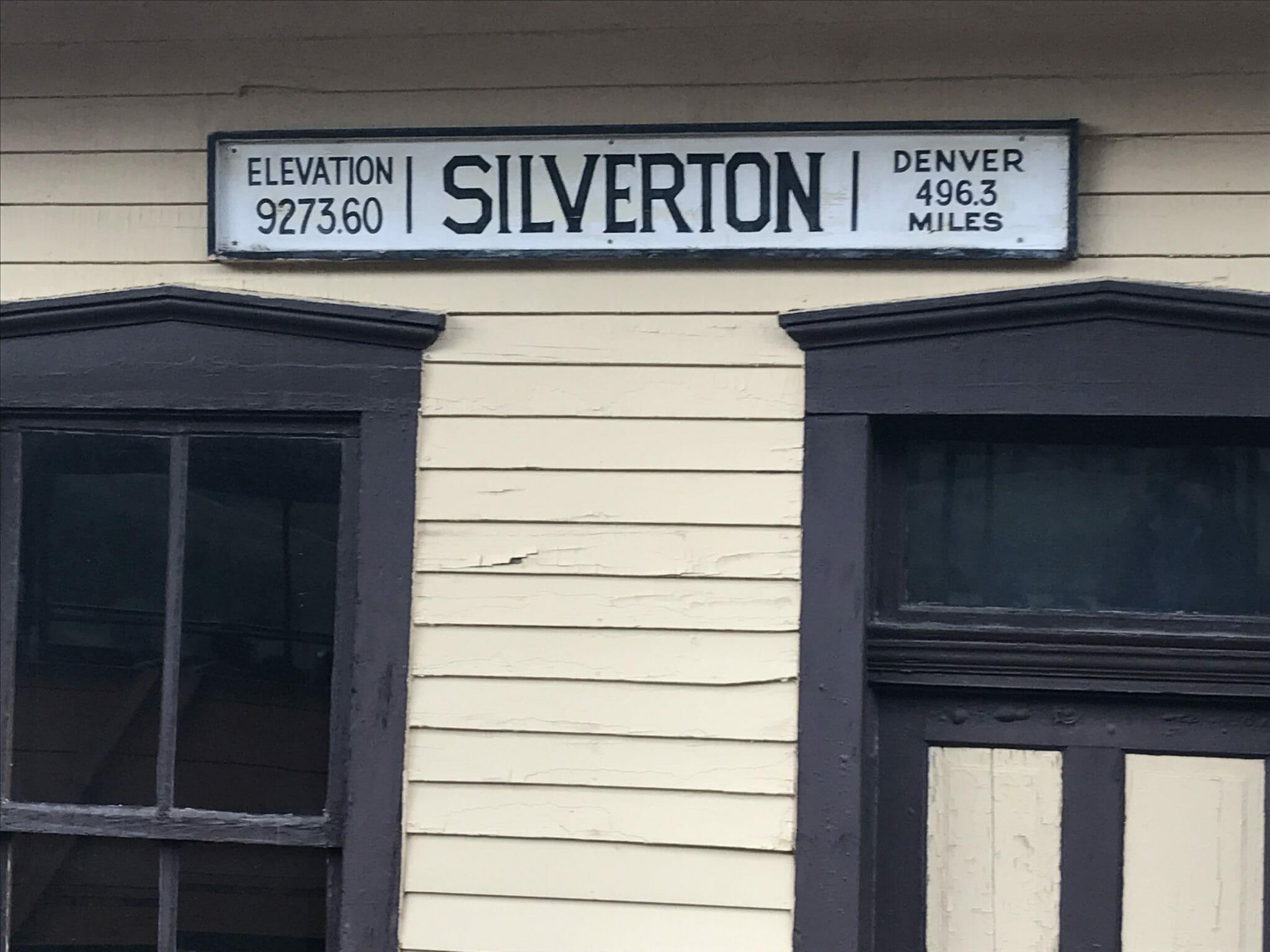 Ddurango silverton train silverton station