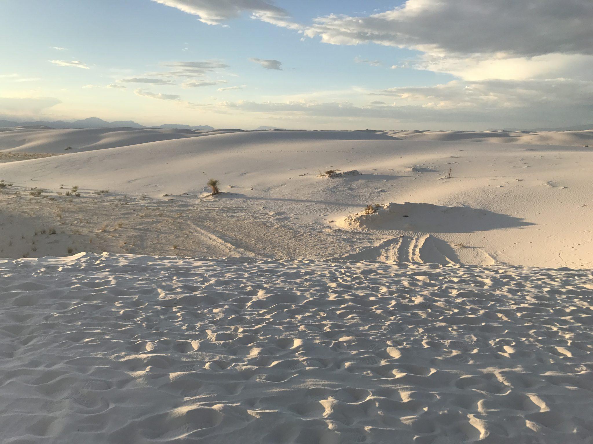 White Sands National Monument Sand Dunes