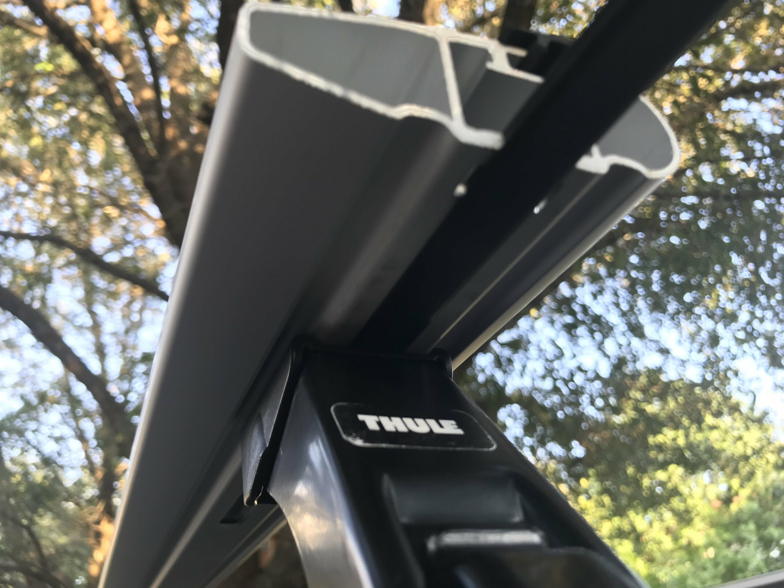 Thule Jeep Wrangler roof rack install