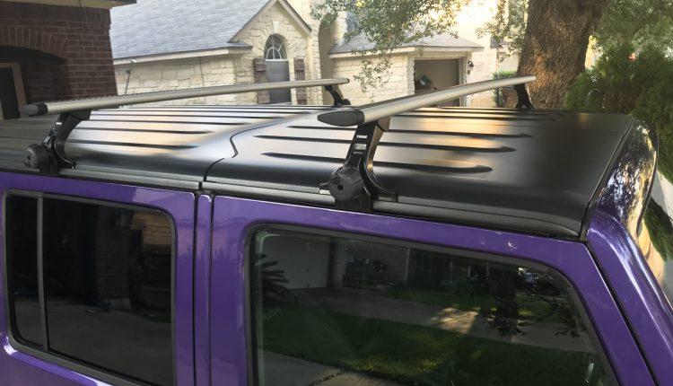 Thule Jeep Wrangler roof rack