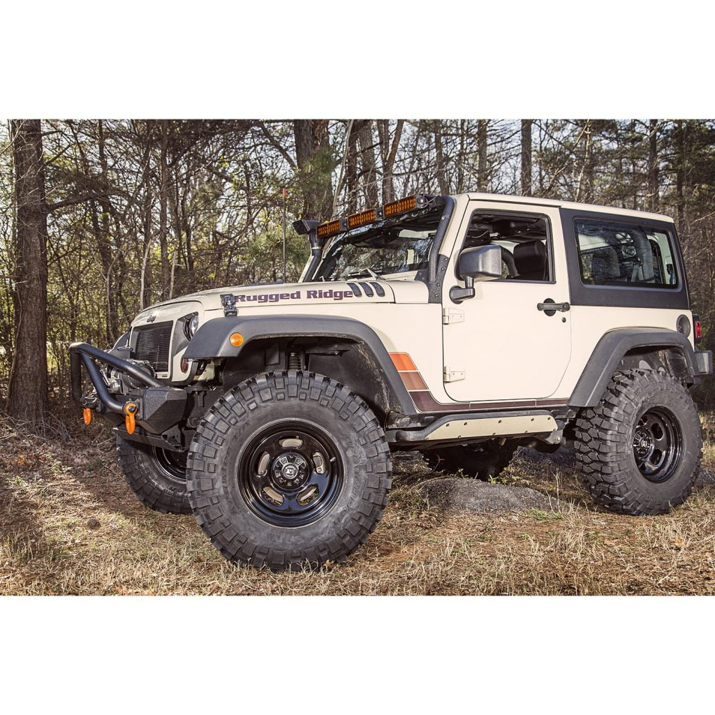 Jeep Wrangler Steel Rims