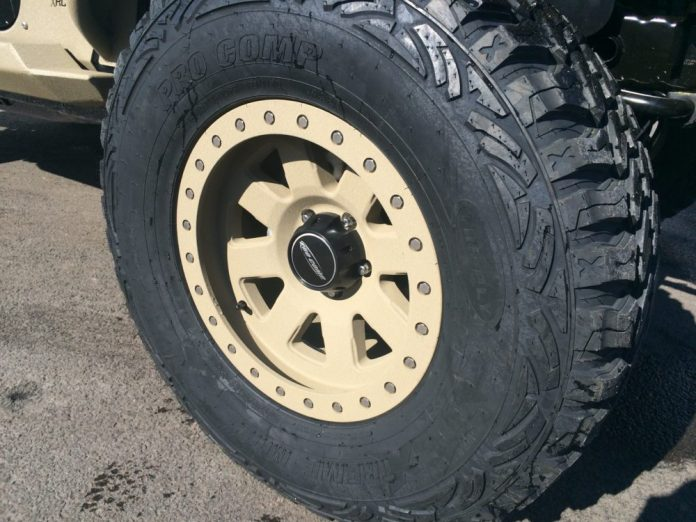 beadlock offroad rim and tire