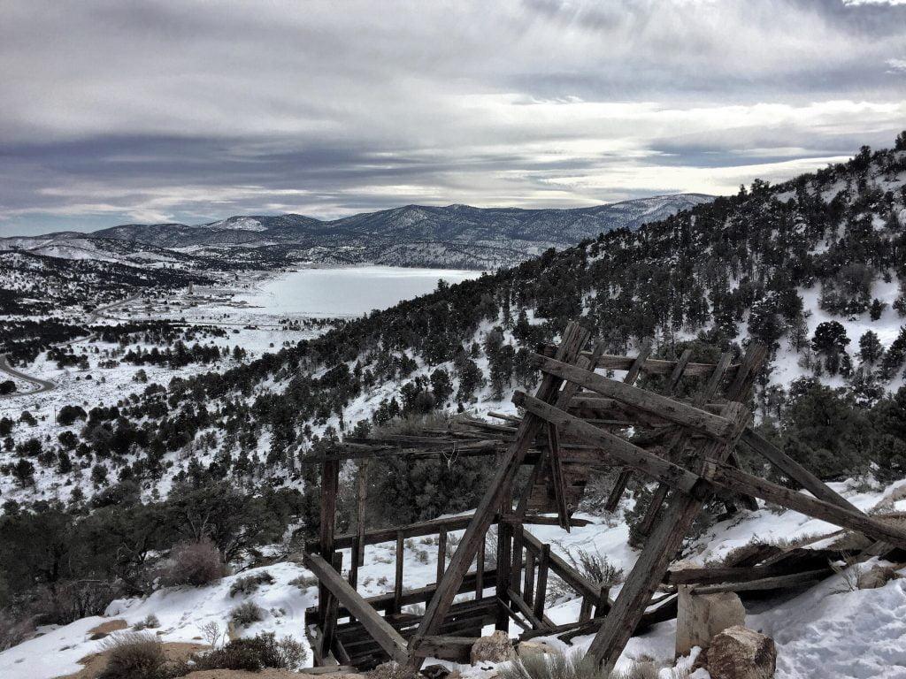 snowshoe baldwin mine