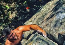 Climbing and fear management