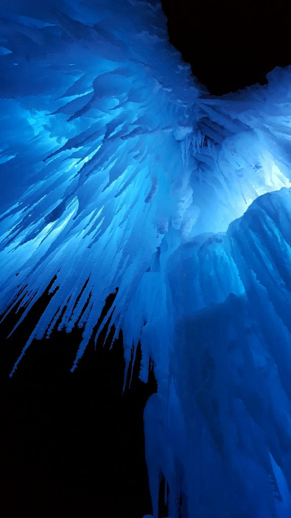 Minnesota Ice Castles Cauldron