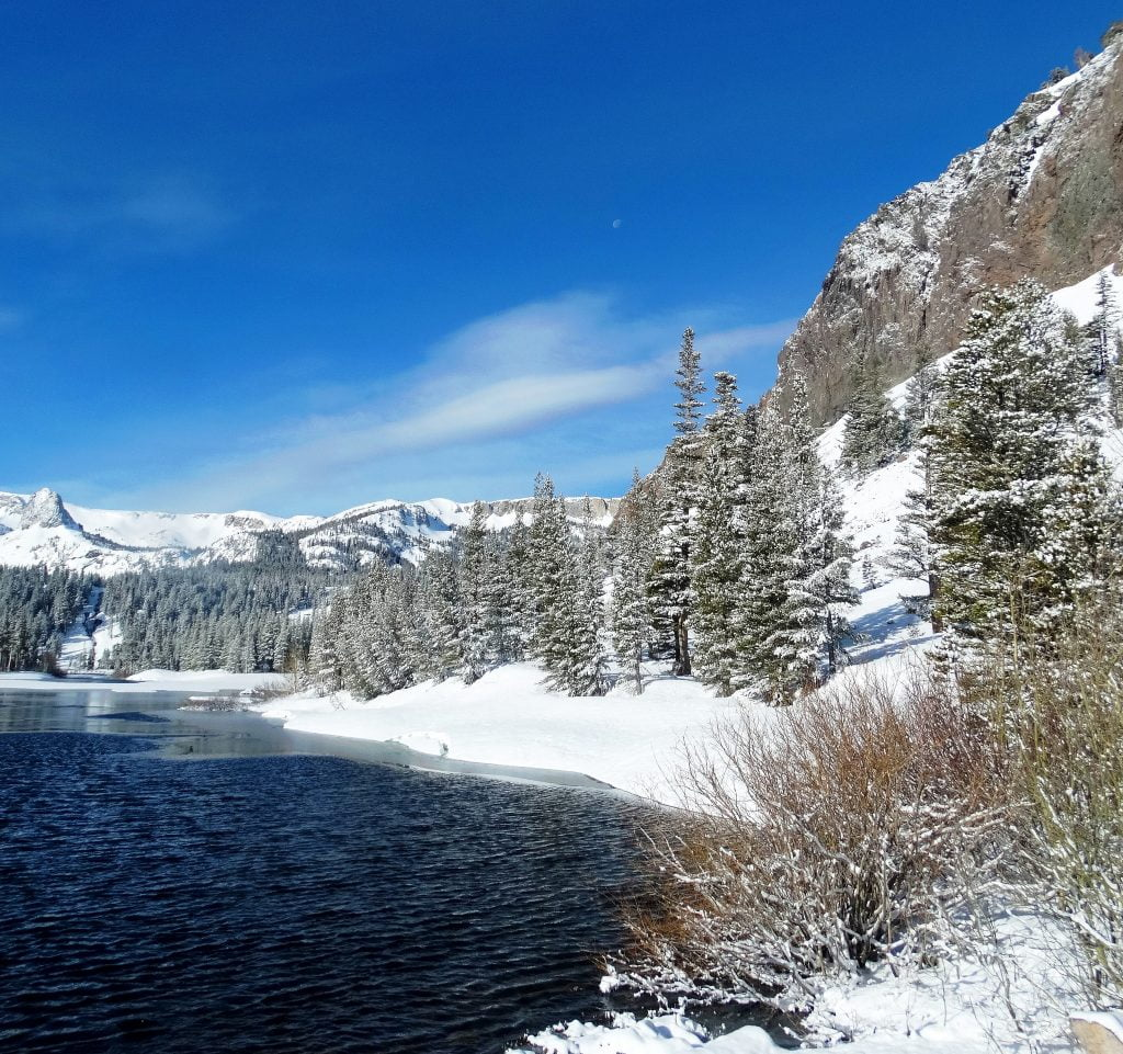 Mammoth Lakes winter activies