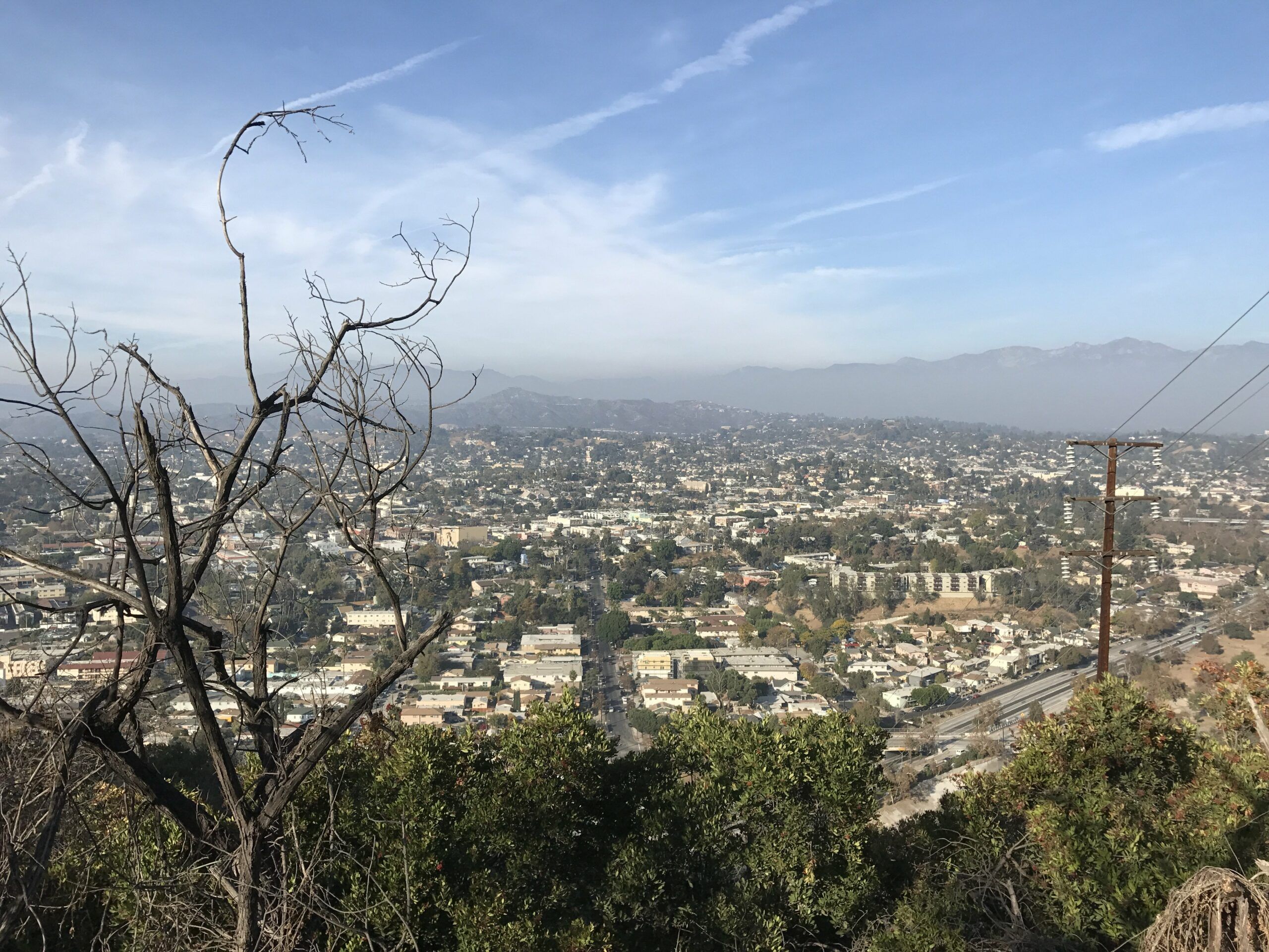 ernest e debs park los angeles viewpoint