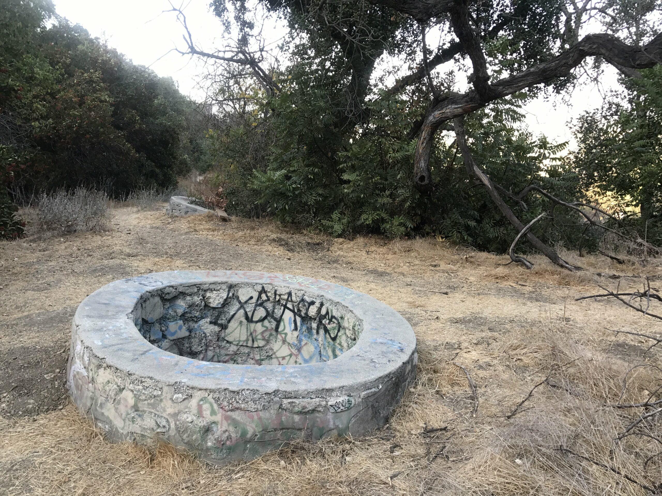 ernest e debs park water well