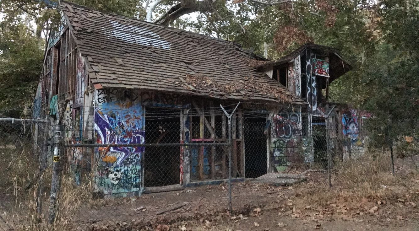Murphy Ranch trail nazi compound