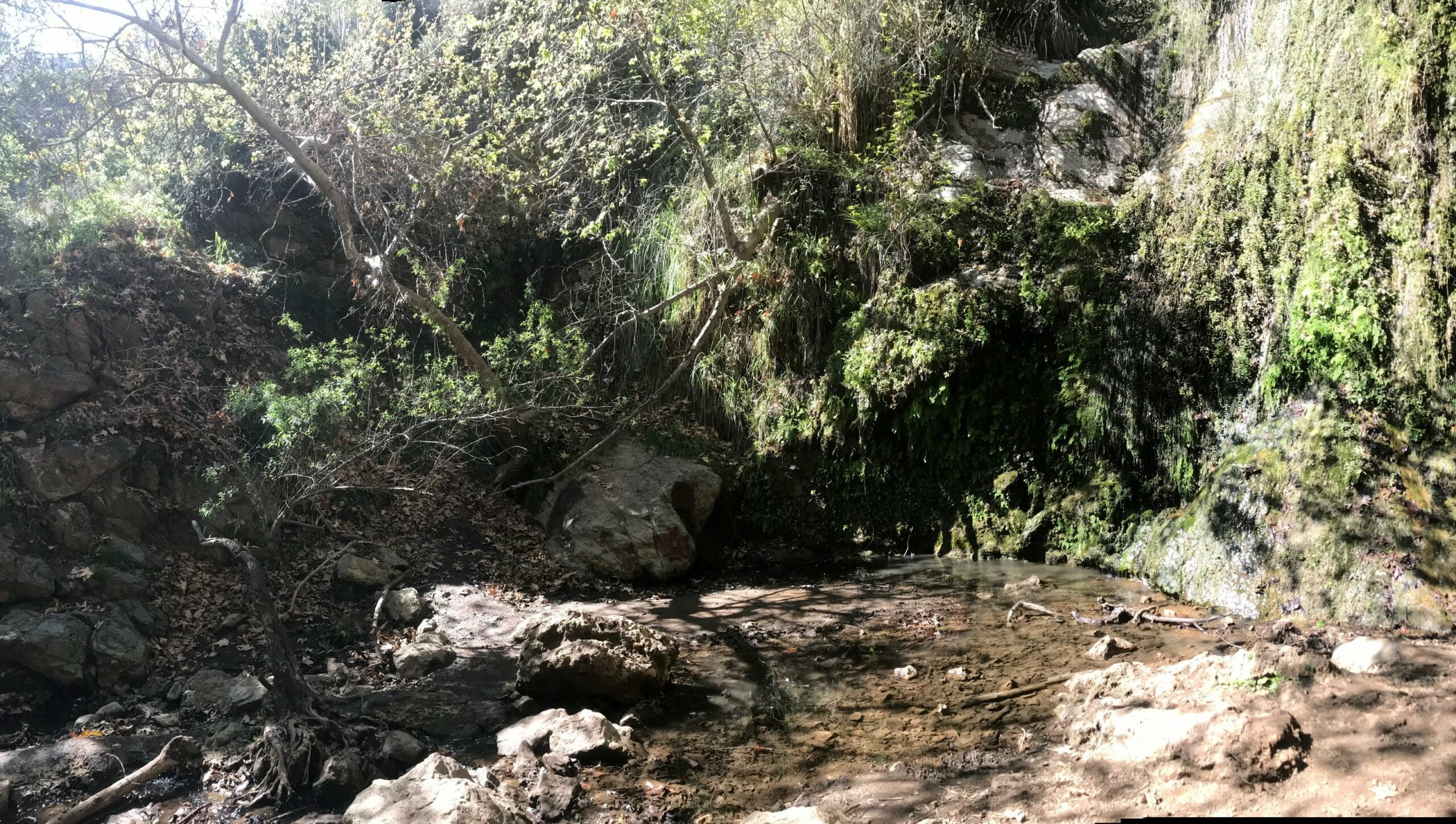 Escondido Falls waterfall photo