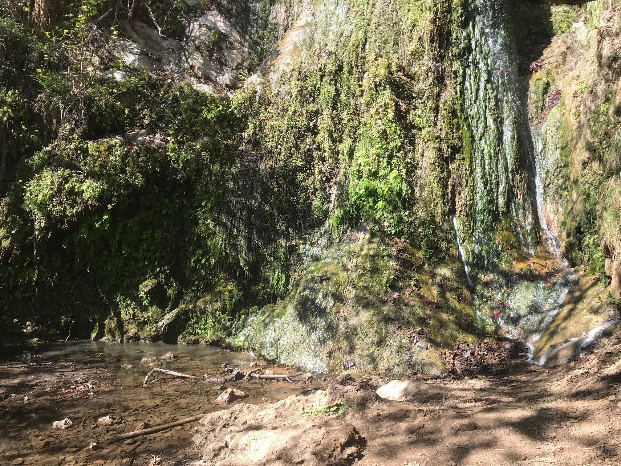 Escondido Falls Waterfall