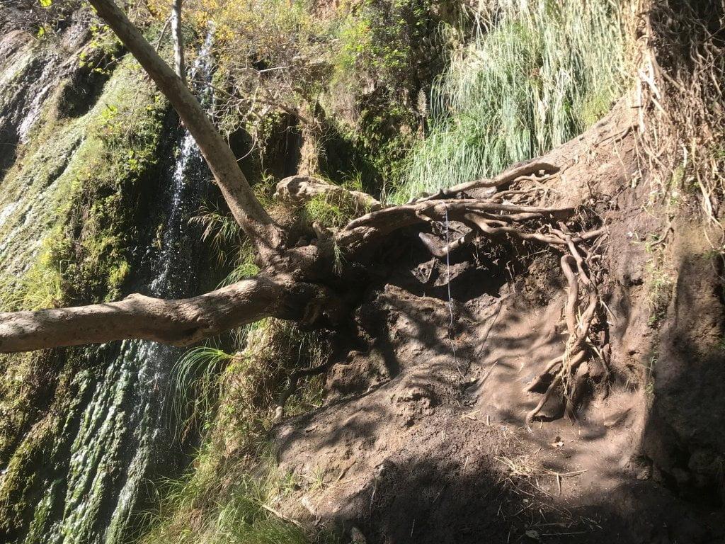 Escondido Falls climbing