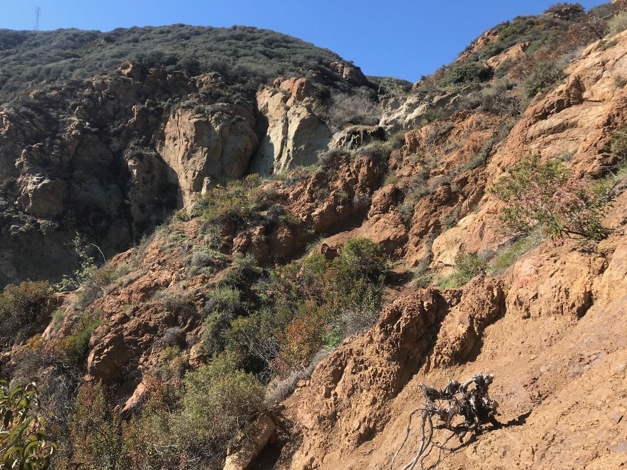 Escondido Falls canyon trail