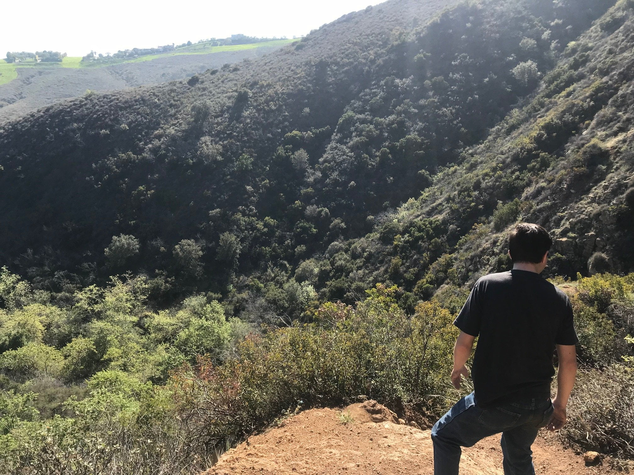 Escondido Falls canyon