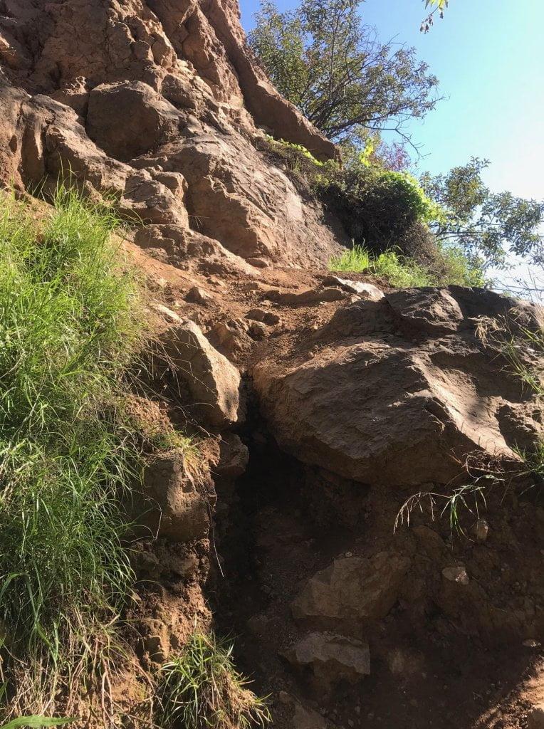 Escondido Falls climb