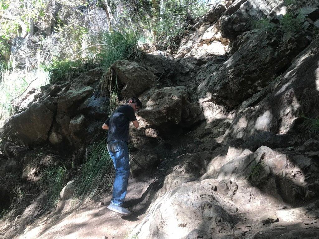 Escondido Falls hike