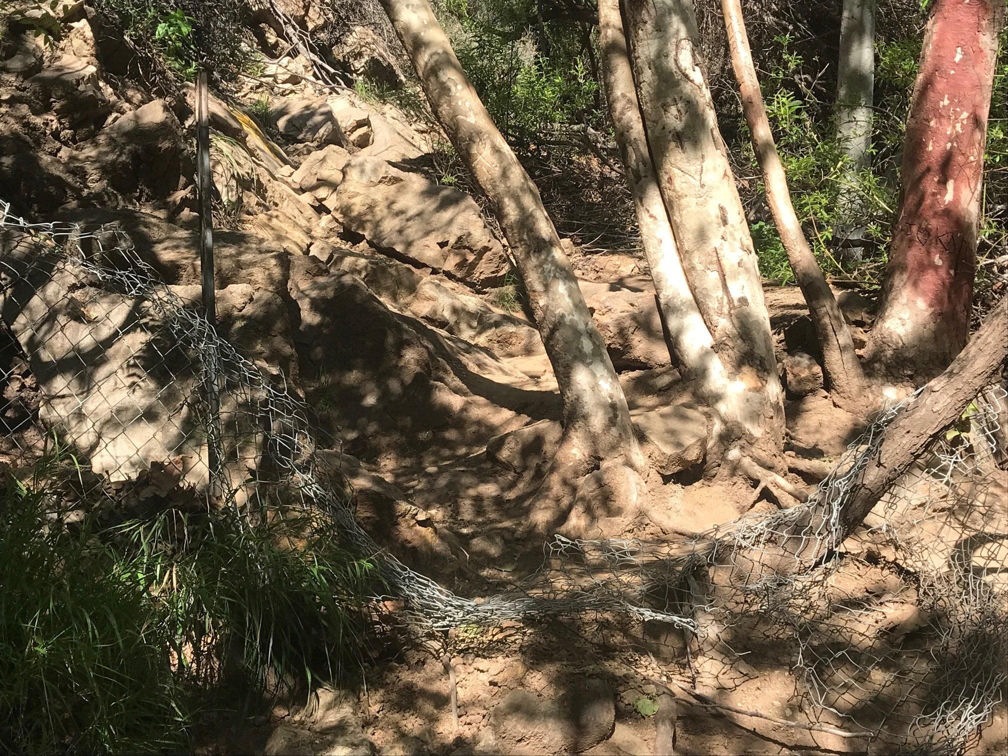 Escondido Falls rock climbing