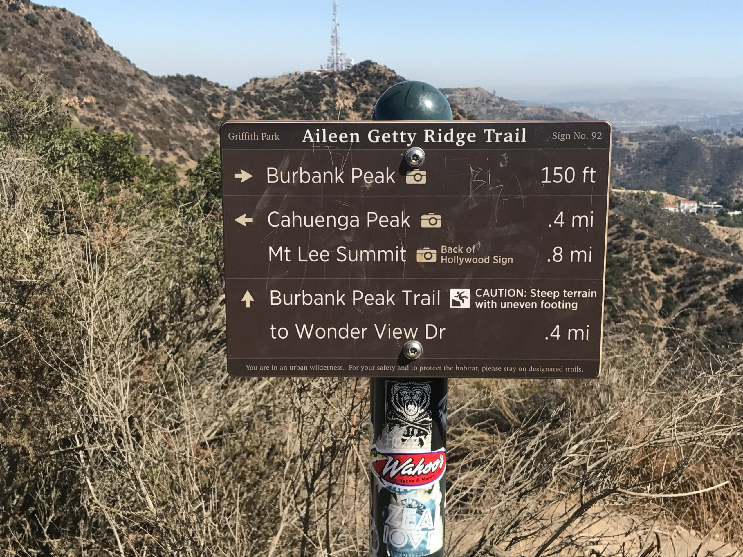 Burbank Peak Trail