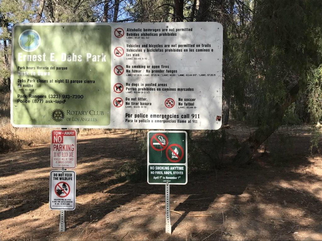 Ernest e debs regional park