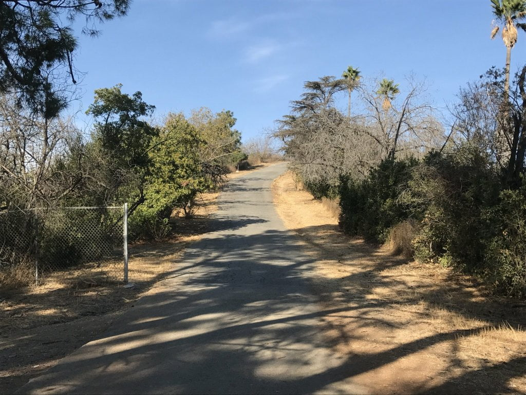 ernest e debs regional park road