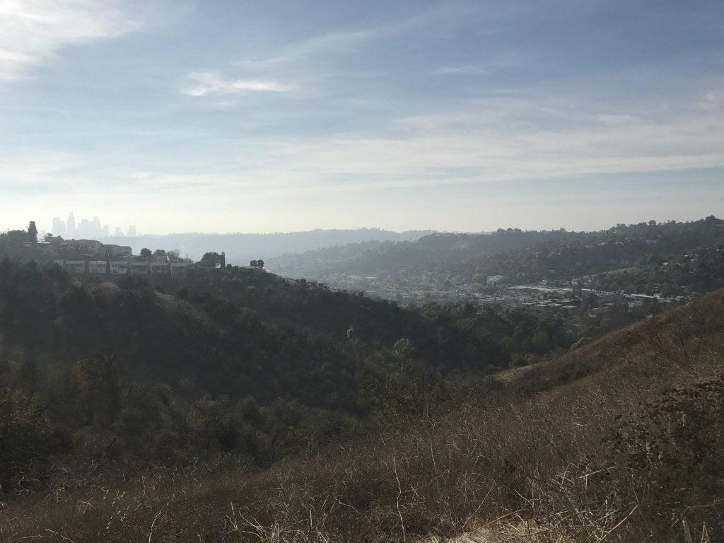 ernest e debs regional park view of LA