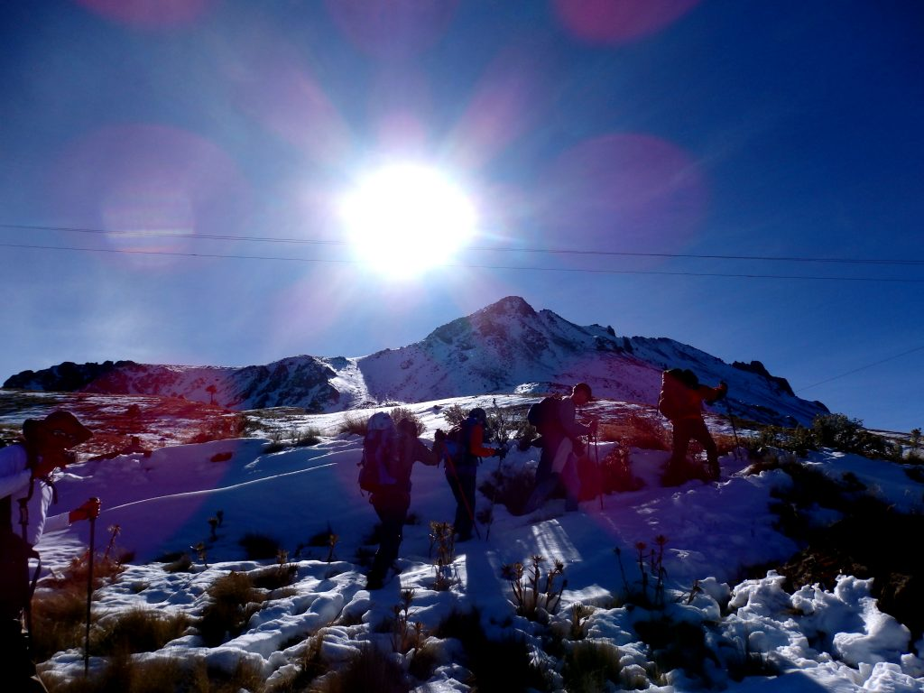 Nevado de Toluca summit