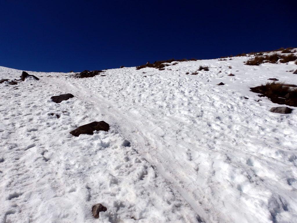 Nevado de Toluca climb