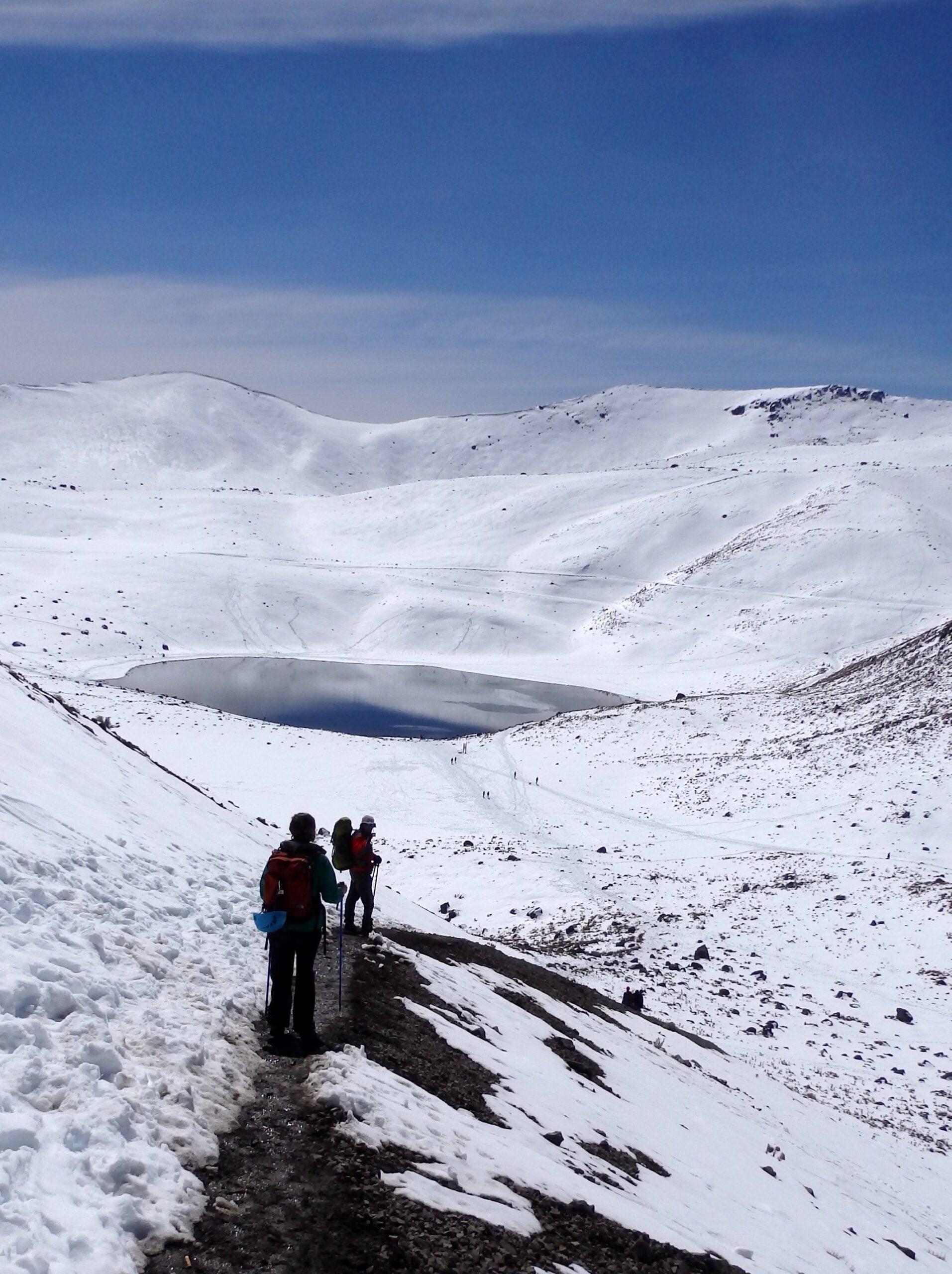 Nevado de Toluca winter climb