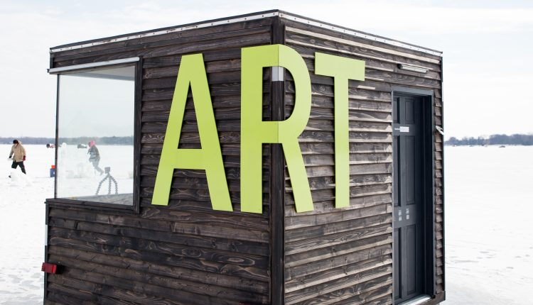 Minnesota Art Shanty Projects | Rockchuck Summit