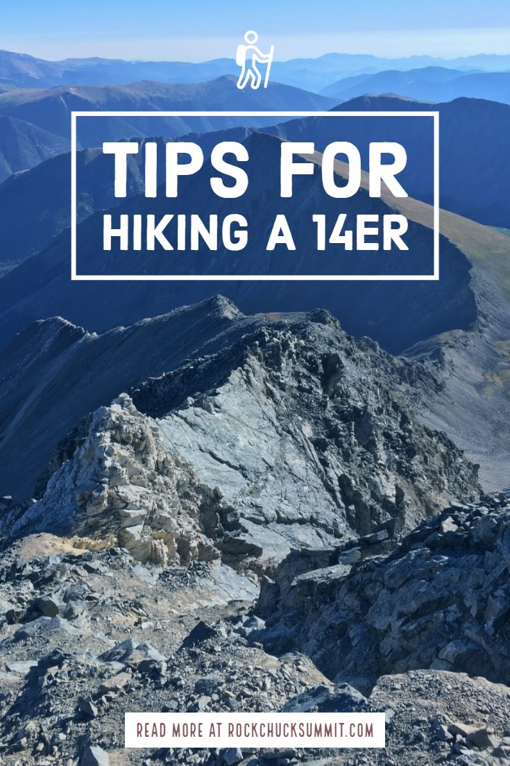 Tips for hiking a 14er