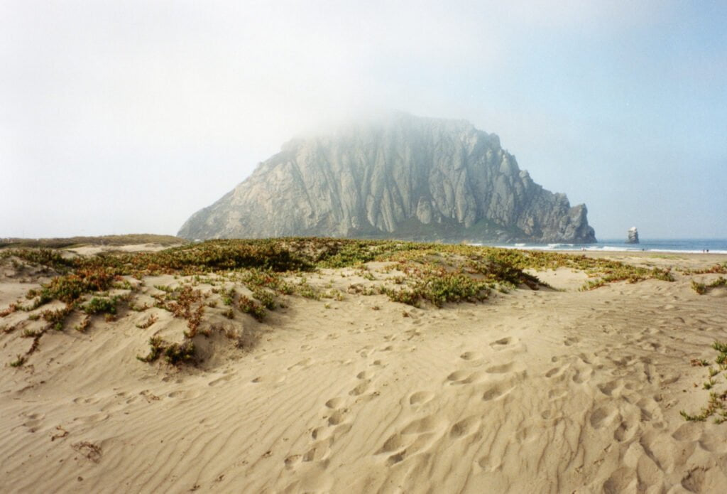 California's Central Coast Morro Rock