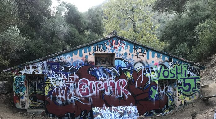 Murphy Ranch Trail Graffiti