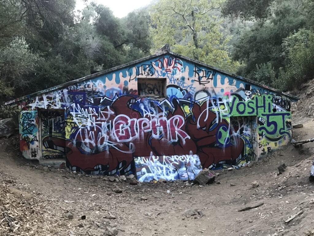 Murphy Ranch Trail Graffiti