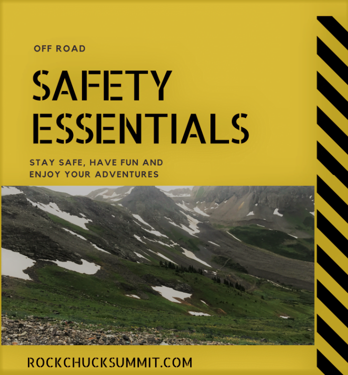 off road safety essentials