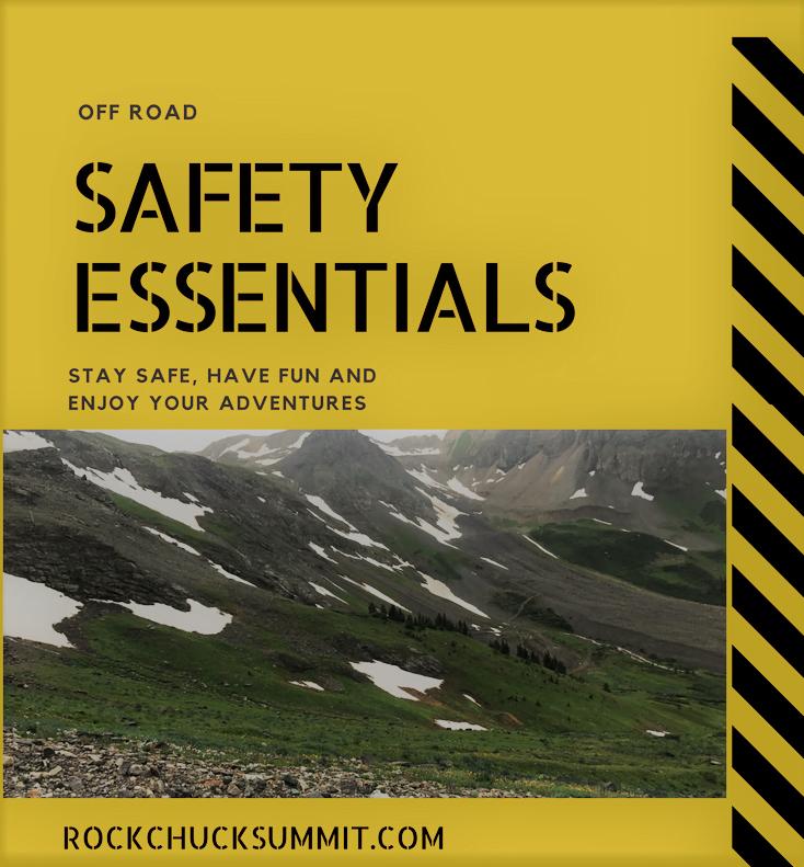 off road safety essentials
