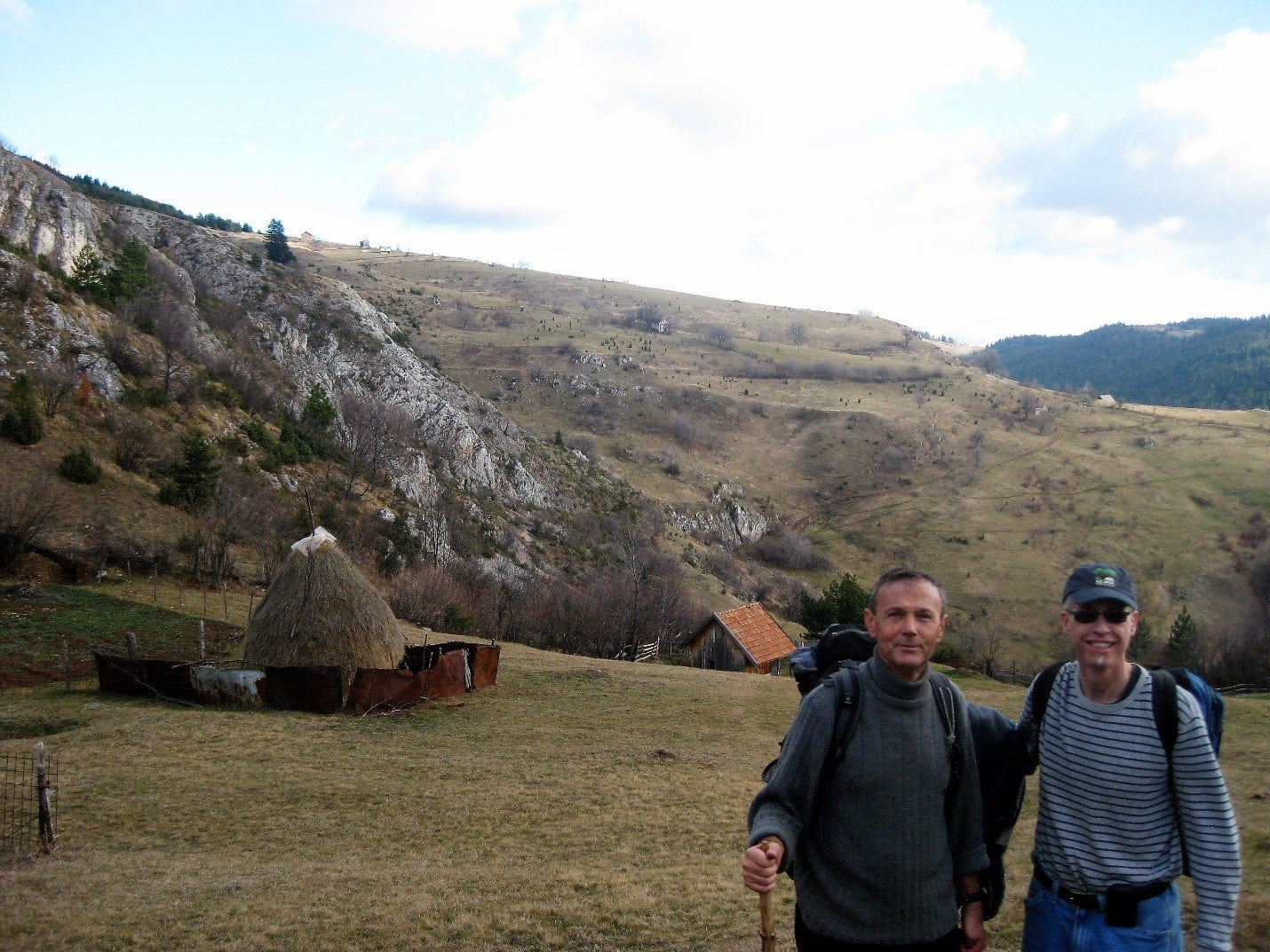 hiking in bosnia