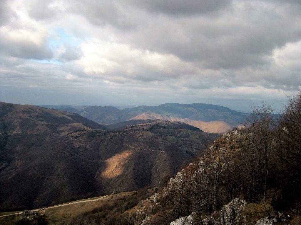hiking in bosnia