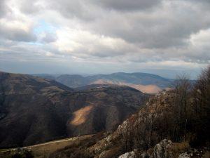 hiking in bosnia mountains