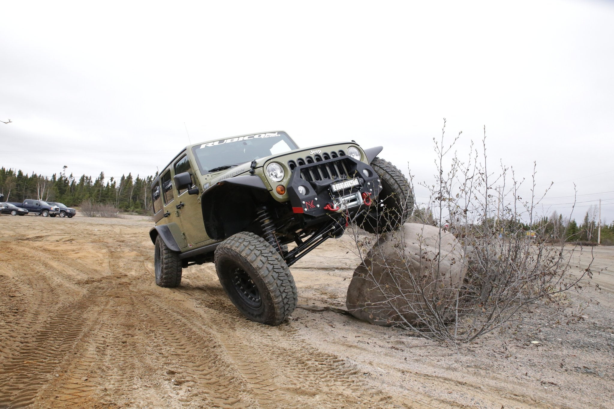 Jeep Wrangler flex