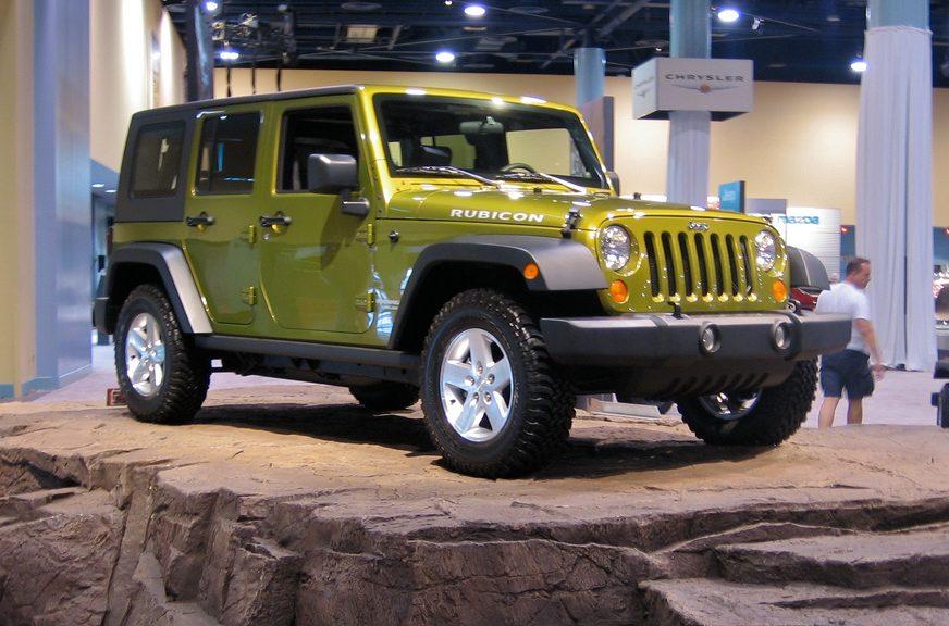 Factory Jeep Wrangler