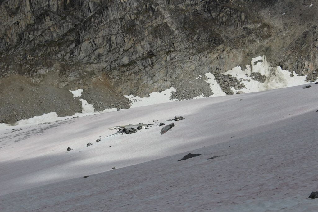 bomber glacier hike
