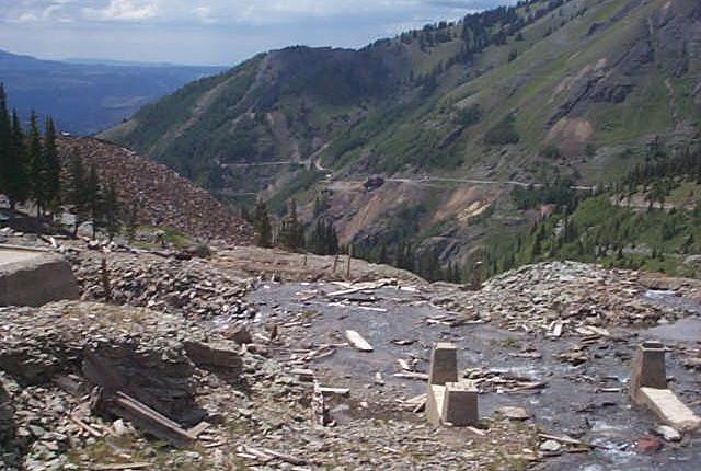 Tomboy Mine Remains on Imogene Pass