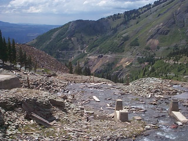 Tomboy Mine Remains on Imogene Pass