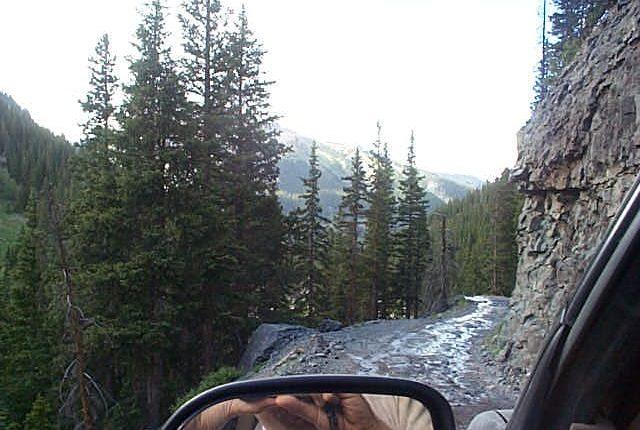 yankee boy basin jeep trail