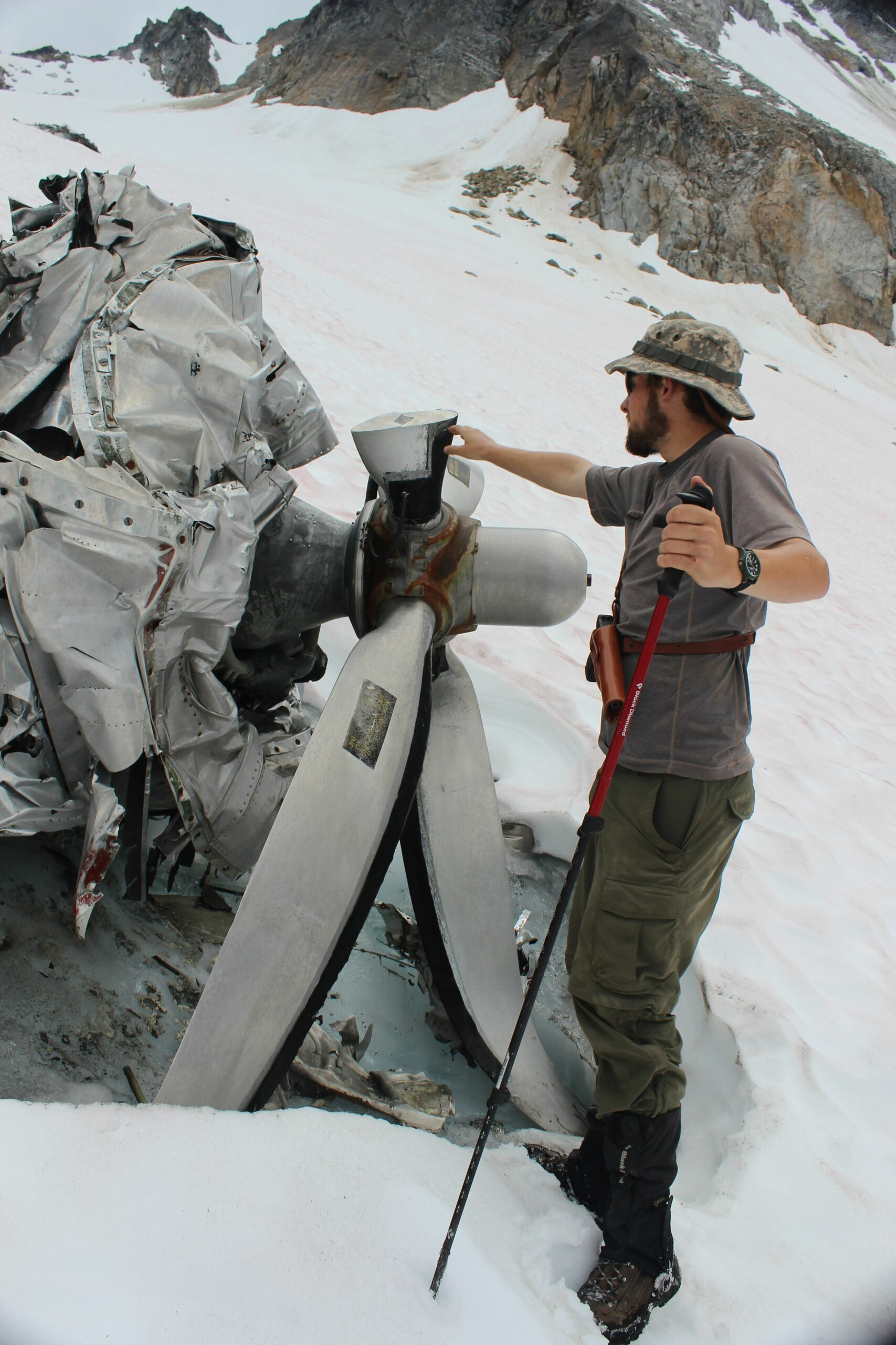 bomber glacier alaska